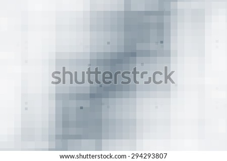 abstract black and white hi-tech background - stock photo