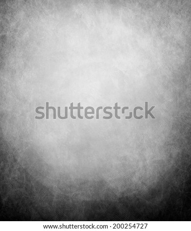 abstract black background, old black vignette border frame white gray background, vintage grunge background texture design, black and white monochrome background for printing brochures or papers - stock photo