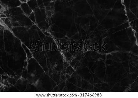 Abstract black marble texture in natural patterned  for background and design. - stock photo