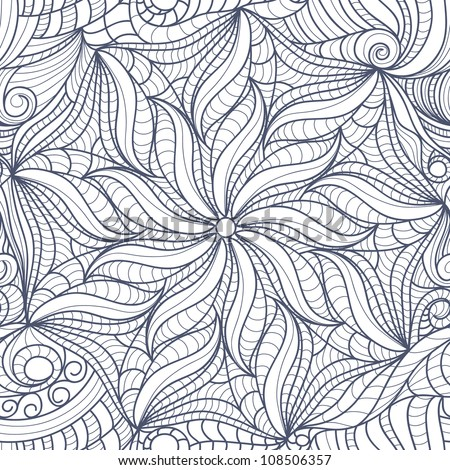Easy flower drawings in black and white fun times stock photo abstract black white drawing flowers mightylinksfo Gallery