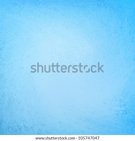 abstract blue background, bright colored sky blue paper with faint vintage grunge background texture - stock photo