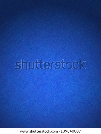 abstract blue background illustration design with elegant dark blue vintage grunge texture and black vignette frame on border with empty blank copy space for ad or brochure template - stock photo