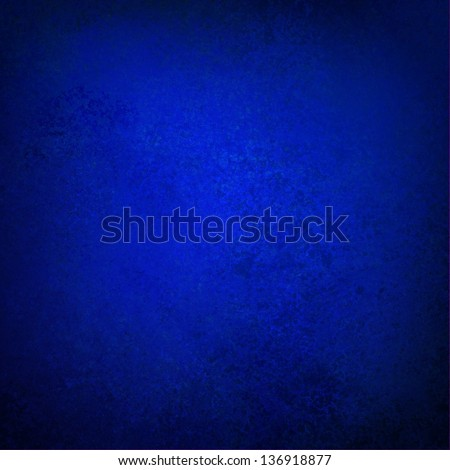 abstract blue background sapphire color classic vintage grunge background texture wall with rich elegant luxury blue paint and black grungy frame plain solid blue paper image for brochure websites app - stock photo