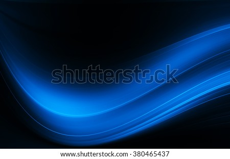 Abstract blue background, wave texture - stock photo