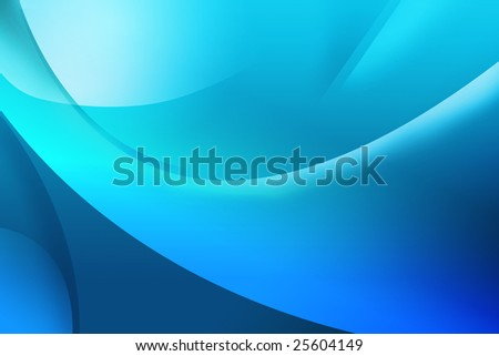 Abstract blue background with lines - stock photo