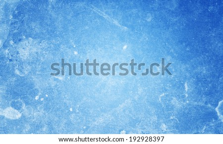 abstract blue background with scratches - stock photo