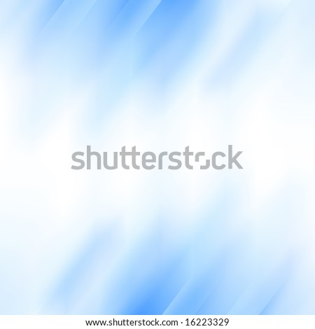 Abstract blue background with some white shades in it - stock photo