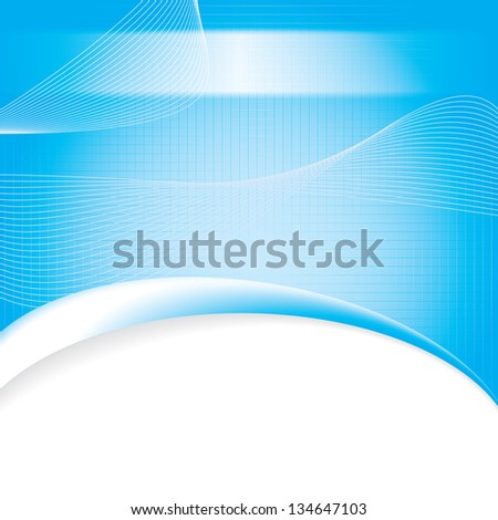 Abstract blue red grid medical background - stock photo