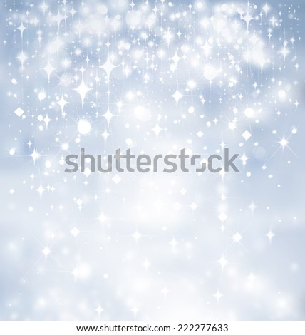 Abstract blue shine background. - stock photo