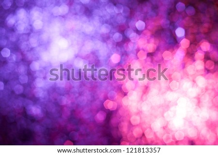 Abstract blur background looks like awesome fireworks - stock photo
