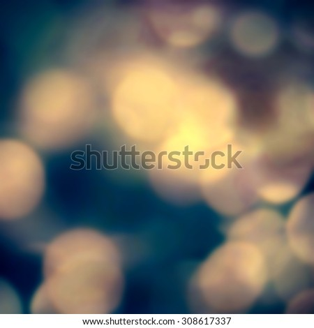 Abstract blur boke background with natural bokeh defocused lights. Holiday party background with blurry special magic effect.  - stock photo