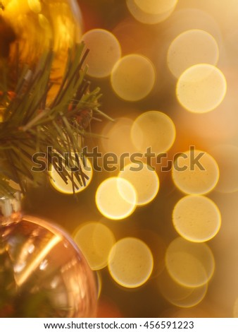 abstract blur bokeh - stock photo