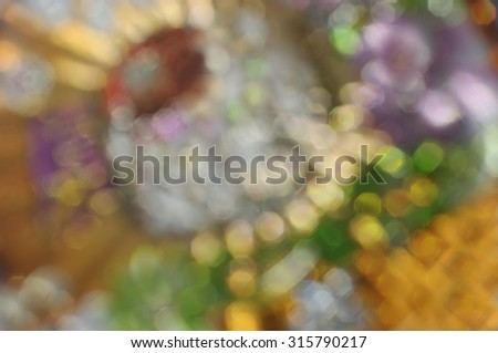 Abstract blur  bright paint stains  boke background - stock photo