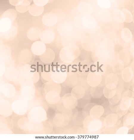 abstract blur orange bronze background concept:blurry soft glittering ball shine backdrop:blurred golden gradient sparkling bokeh light wallpaper conceptual:square frame picture conception.xmas card - stock photo