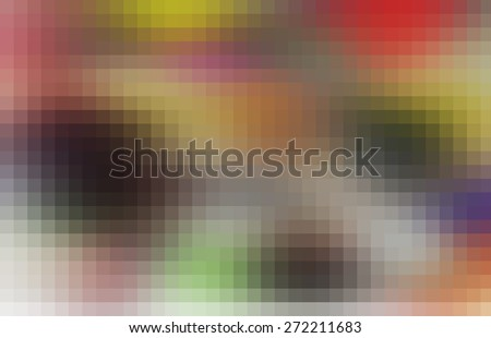 abstract blurred background, smooth gradient texture color with beautiful square pattern texture mosaic filter  - stock photo