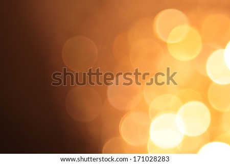 abstract blurred circular bokeh lights background - stock photo