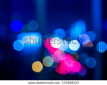 Abstract bokeh background / Vector illustration - stock photo