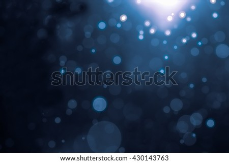 Abstract bokeh background with blur style. It looks bright and glittering. You can apply for wallpaper,background,backdrop,product display and artwork design. - stock photo