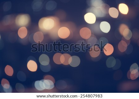 Abstract Bokeh blurred color light can use background - stock photo