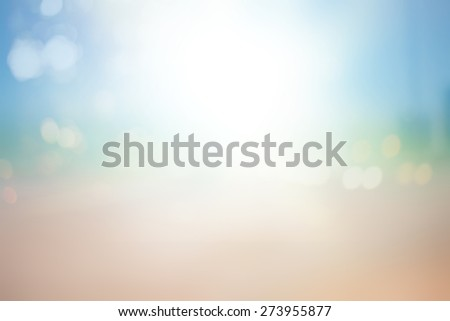 Abstract Bokeh Blurred on colorful background.Space For Text - stock photo