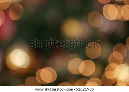 Abstract bokeh light background - stock photo