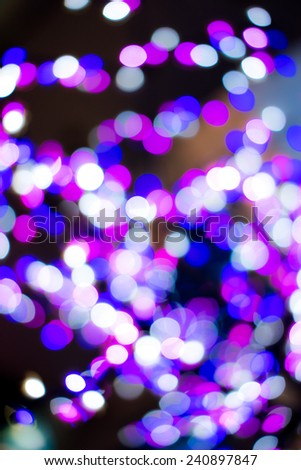 abstract bokeh purple light background. - stock photo