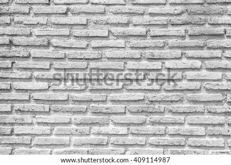 abstract brick wall for exterior background. - stock photo