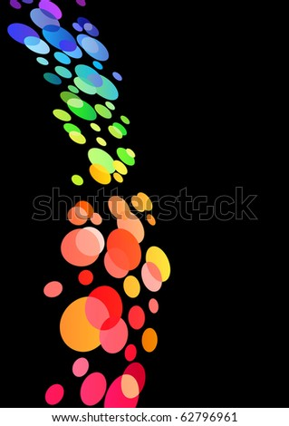 Abstract bright background. Raster version. Vector version is in my gallery. - stock photo