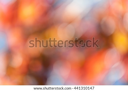 Abstract bright bokeh background - stock photo