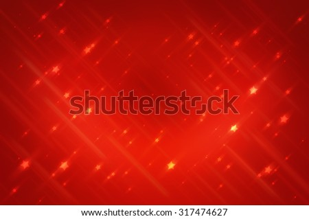 Abstract bright glitter red background - stock photo