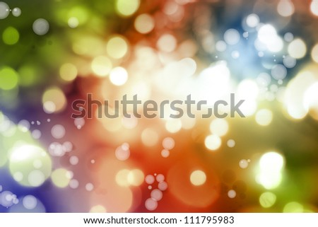 Abstract bright lights color background - stock photo