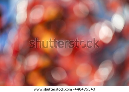 Abstract bright multicolored bokeh background - stock photo