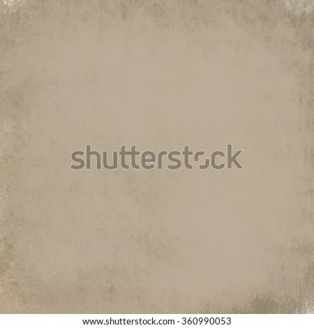 abstract brown background or brown paper parchment with soft vintage background wall texture and tan cream color brochure or ivory wallpaper with neutral warm backdrop for web template or announcement - stock photo