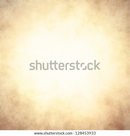 abstract brown background tan color, elegant warm background of vintage grunge background texture white center, pastel brown paper bag style or old parchment for brochure - stock photo