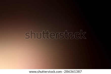 abstract brown blurred background, smooth gradient texture color, shiny bright background banner header or sidebar graphic art image - stock photo