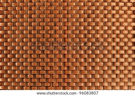 abstract brown tablecloth background texture pattern - stock photo