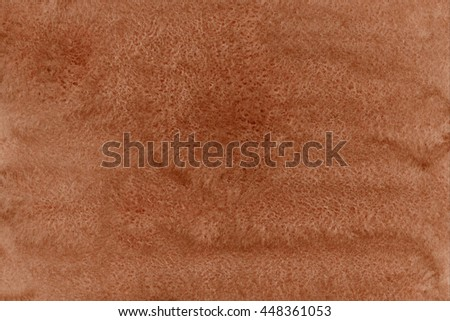 Abstract brown watercolor background. Brown watercolor texture. Abstract watercolor hand painted background. - stock photo
