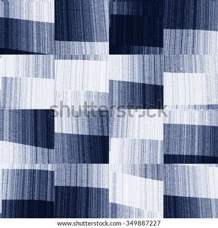 Abstract brushed blocks seamless pattern. - stock photo