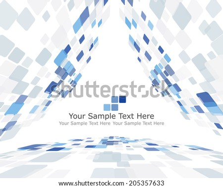 Abstract checked pattern - stock photo