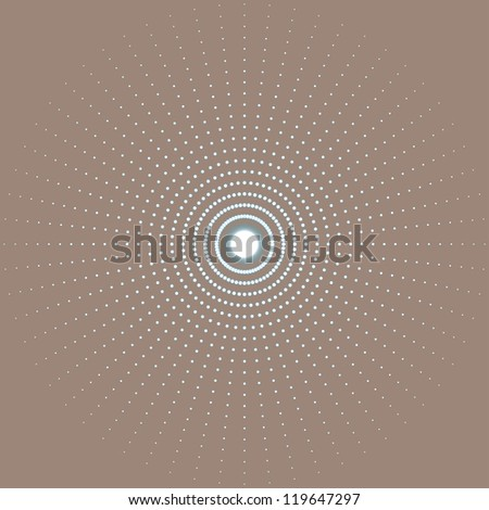abstract circle background. (vector version also available in my gallery) - stock photo