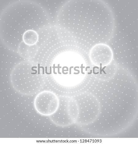 abstract circle background.(vector version also available in my gallery) - stock photo