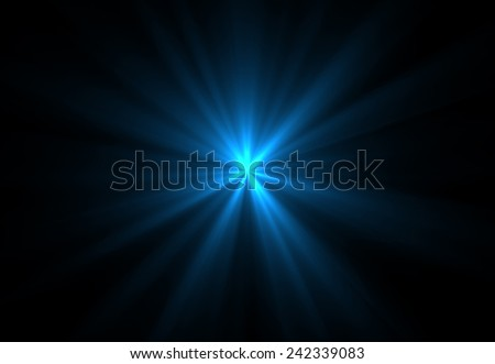 Abstract circular beautiful rays light background (super high resolution) - stock photo