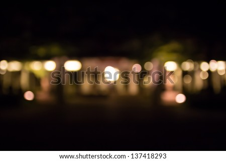 Abstract circular bokeh background of light - stock photo