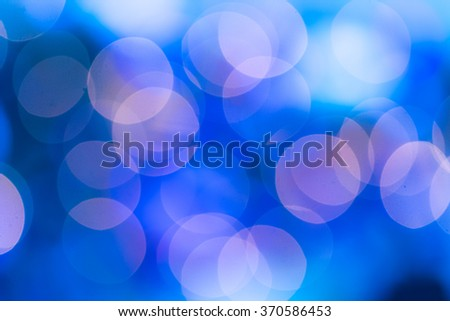 Abstract circular bokeh circles defocused bokeh lights facula background for Christmas background colors - stock photo