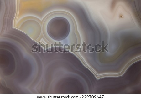 Abstract close up from a piece of Agate - stock photo
