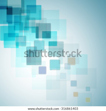 Abstract color squares backdrop - stock photo
