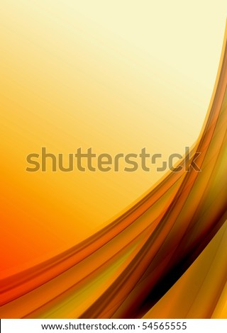 Abstract color wave background - stock photo