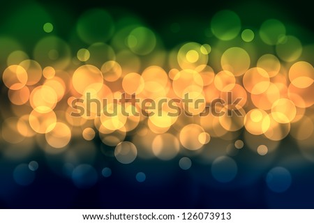 Abstract colored bokeh Background. - stock photo