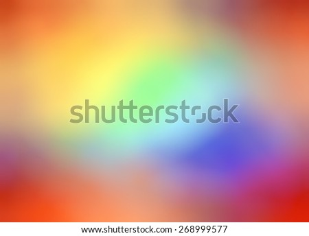 Abstract colorful background - blur, bokeh. Orange, red, blue, green, yellow, purple, pink colors. - stock photo