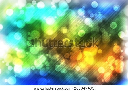 abstract colorful blurred abstract backgrounds for design with beautiful glitter twinkling bokeh and motion speed lines  - stock photo